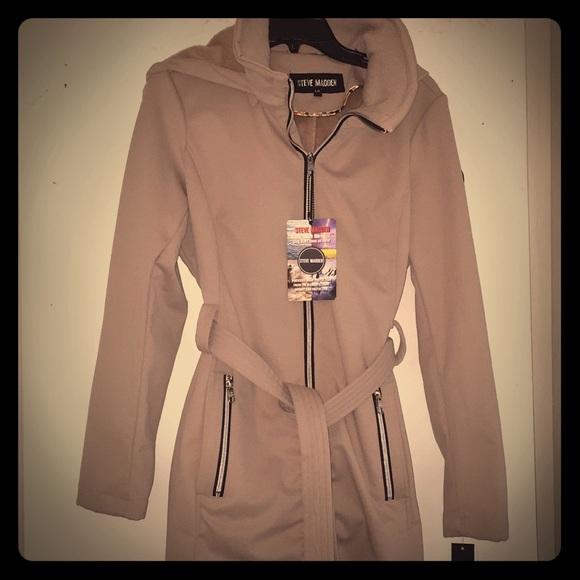 Steve Madden Jackets & Blazers - NWT Steve Madden Tan Glacier Shield Jacket Size L